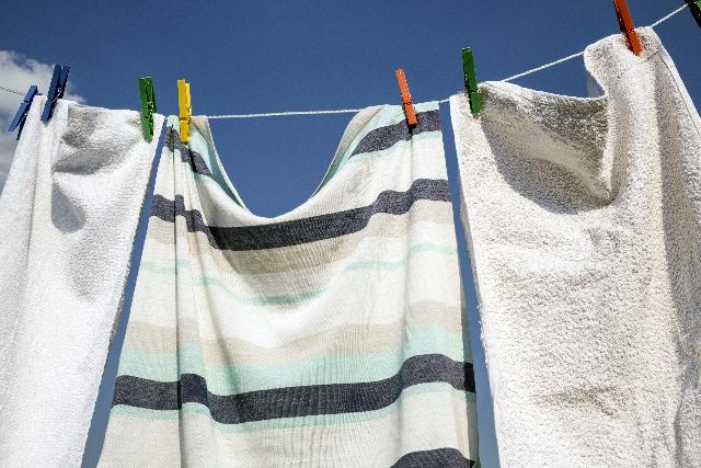 バスタオル、何回使って洗う?